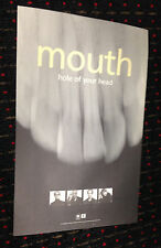 MOUTH Hole Of Your Head 11x17 original record store promo poster Reprise