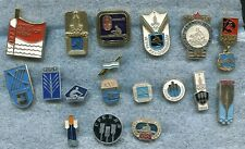 Russia USSR Rowing 18 Pin Badges Medal