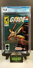 G.I. JOE A REAL AMERICAN HERO 21 CGC 9.8 1ST STORM SHADOW 3rd PRINT MARVEL COMIC
