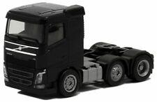 Herpa LKW Volvo FH4 Flachdach SZM 3achs schwarz
