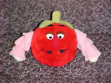 """10"""" Disney Mr. Tomato Plush Toy From Epcot Kitchen Kabaret 1982 Super Rare"""
