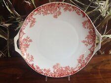 OLD schÖNWALD Bavaria beautiful Pastry plate/Serving platter Orange Flower edge