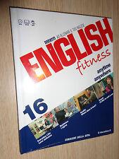 DVD LIBRO N° 16  ENGLISH FITNESS DIVERTITI AD ALLENARE IL TUO INGLESE CORRIERE