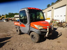 Kubota Rtv1100 4x4 Utility Vehicle Runs Nice! Rtv-1100 Full Cab Heat A/C Radio