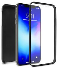 Black Full Body Phone Case for Apple iPhone 11 Pro Max Front Back Hybrid Cover