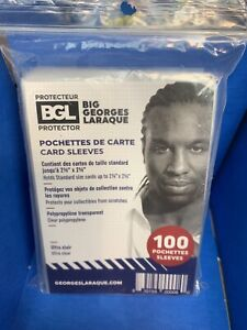 100 Card Protector Card Sleeves Packages BGL Big Georges Laraque New Product