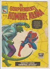 EL SORPRENDENTE HOMBRE ARAÑA #64 LA PRENSA MEXICAN 1967 AMAZING SPIDER-MAN #45