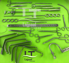 Tonsillectomy Set of 27 pcs Surgical Orthopedic Instruments Grade A+ Stainless