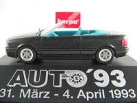 """Herpa 166645 Audi Cabrio (1991) """"AUTO ´93"""" in dunkelgraumet. 1:87/H0 NEU/OVP/PC"""