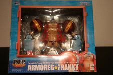 P.O.P Armored Franky New World One Piece figure from Mega House