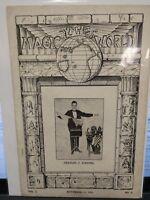 The Magic World 1918 CHARLES J DIESTEL Issue Vol.2 No.8