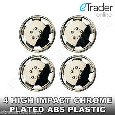 "Mercedes Sprinter 15"" Chrome Wheel Trims Van Hub Caps - SET OF 4 Wheel Covers"