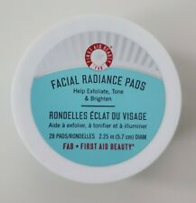 FIRST AID beauty FACIAL Radiance PADS (28 PADS)!! BRAND NEW!! SOLD OUT