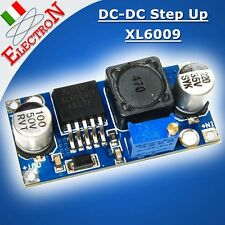Convertitore DC-DC step up XL6009 in 3.2V-32V out 4-38V regolabile -alimentatore