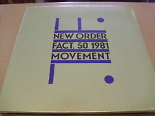 New Order - Movement - LP Vinyl // Neu&OVP