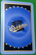 Playing Cards 1 Swap Card - Old Vintage Advertising ERICSSON Retro Telephone 1