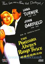 The Postman Always Rings Twice (1981) - Lana Turner, John Grfield - DVD NEW