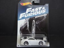 Hot Wheels Toyota Supra White Fast and Furious DWF68-999A 1/64