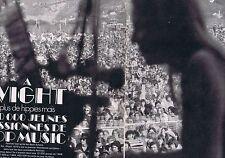 COUPURE DE PRESSE CLIPPING 1970 FESTIVAL de l'Ile de WIGHT   (6 pages)