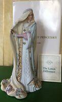 LENOX LADY RAPUNZEL THE LEGENDRY PRINCESSES  FINE PORCELAIN BOXED PERFECT
