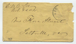 1860s George W. Custis Lee autograph on cover confederate general [5977.131]