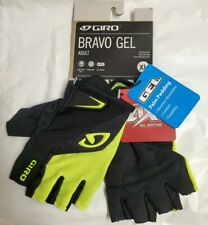 Giro Bravo Gel Cycling Glove Highlight Yellow Adult Extra Large Short Finger NEW