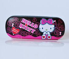 Brand New Cute Hello Kitty Girl Hard Shell Glasses Eyeglass Case Box Holder Gift