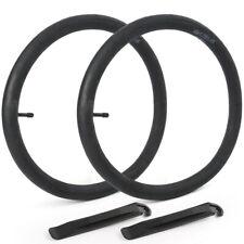 "2 x 18"" inch Inner Bike Tube 18x1.75-1.95 Bicycle Rubber Tire Interior BMX MTB"