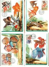 maximum card maxicard set Czech republic 2003  Fishes