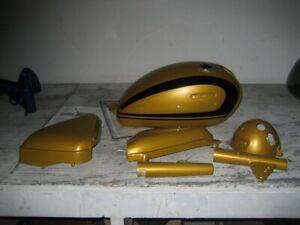 Honda Poppy Yellow Vintage Motorcycle Paint - Aerosol - Pint - Quart