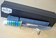 HOUSER CUSTOM BUCK KNIFE 120 GENERAL LUCITE THEATER STYLE BOS 420HC BLADE 1 OF 7