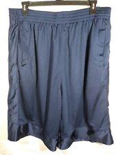 Shake Wear Men Blue Mesh Modesty Shield Rear Zip Pocket Shorts Size 5XL - GW5039