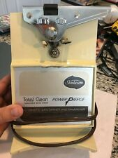Sunbeam Total Clean Power Pierce Automatic Can Opener and Sharpener - working co