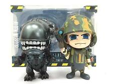 Hot Toys Cosbaby Alien Worrior USCM 2 Pack Collectible Figure