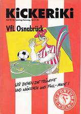 II BL 91/92 Fortuna Cologne - VfL Osnabrück, 16.11.1991