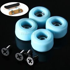 4 Pcs/Set Professional Urethane CNC Bearing Wheels for Wooden Fingerboard