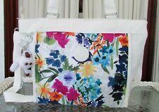 Kipling New Shopper Tote Shoulder Crossbody Bag Flower Power Floral NWT