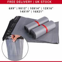 Grey Postal Packaging Bags Plastic Parcel Mailing Packing Envelopes Polythene