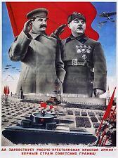 POLITICAL PROPAGANDA COMMUNIST CHELIUSKIN RESCUE SOVIET UNION POSTER 1840PYLV