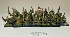 Warhammer Orcs and Goblins - Night Goblin Mob x 20 - Painted Very Well