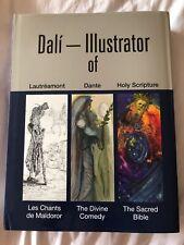 """RARE HUGE """"SALVADOR DALI"""" ILLUSTRATOR OF ART MUSEUM BOOK BY EDUARD FORNES"""