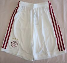 AJAX BOYS 2013/14 HOME SHORTS BY ADIDAS SIZE 16 YEARS BRAND NEW WITH TAGS