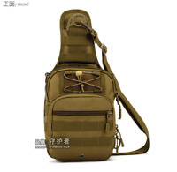 Tactical Military Sling Chest Bag Waterproof Crossbody Daypack  For Camping