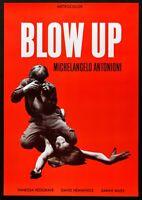 Manifesto Blow Up Michelangelo Antonioni Vanessa Redgrave Hemmings Miles P04