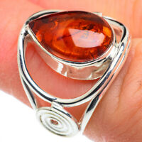 Baltic Amber 925 Sterling Silver Ring Size 6 Ana Co Jewelry R62434F