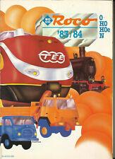 Katalog Roco 1983/84 Modellbahnen in HO 1:87 HOe N O
