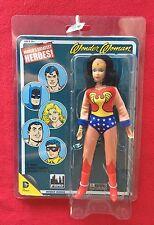 "Figures Toy Company Worlds Greatest Heroes RETRO MEGO Wonder Woman 8"" figure"