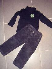 ensemble garçon ~   3 ans / 4 ans    ~ PAMPOLINO PL5 ~ pantalon , pull