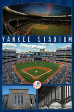 New York Yankees- Stadium 2016 Poster Print by Connie Haley, 22x34