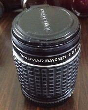 135mm 1:2.5 Asahi Optical Co 5636034 Takumar (Bayonet) Camera Lens